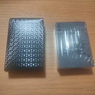 トランプ ブラック プラスチック製 (トランプ/UNO)