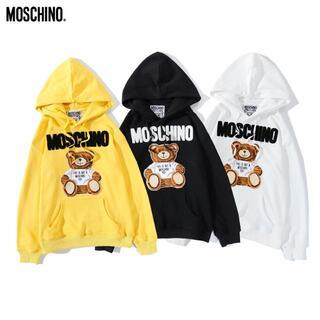 モスキーノ(MOSCHINO)の302#MOSCHINO 2枚12000円モスキーノくま柄長袖パーカー(パーカー)