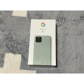 グーグル(Google)のGoogle Pixel5 ソータセージ SIMロック解除済み ①(スマートフォン本体)