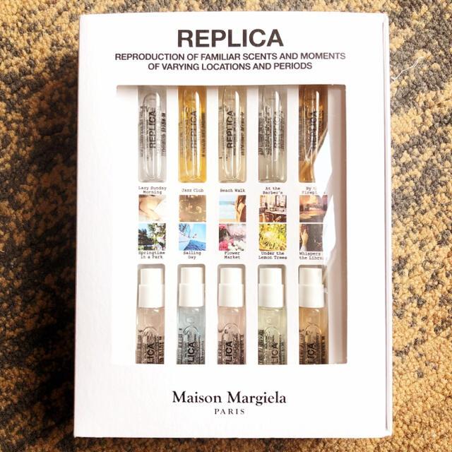Maison Martin Margiela(マルタンマルジェラ)のメゾン マルジェラ レプリカ 香水 10本 ディスカバリーセット コスメ/美容の香水(ユニセックス)の商品写真