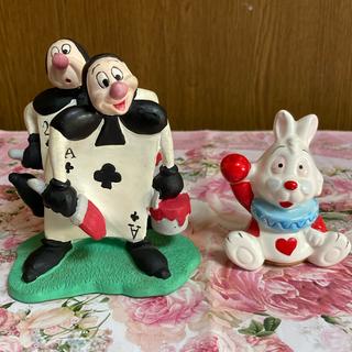 Disney - 不思議の国のアリス トランプ 陶器 置物