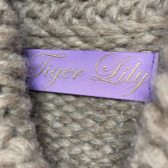 DEUXIEME CLASSE(ドゥーズィエムクラス)のタイガーリリー カウチン セーター 田丸麻紀着用 レディースのトップス(ニット/セーター)の商品写真