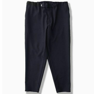 1LDK SELECT - Graphpaper SELVAGE WOOL CHEF PANTS NAVY
