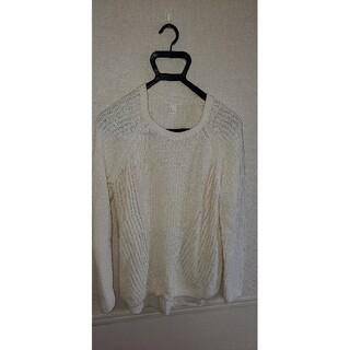 エイチアンドエム(H&M)のH&M 春夏セーター白 EUR:Lサイズ(ニット/セーター)