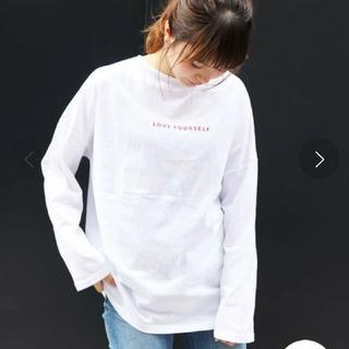 トゥデイフル(TODAYFUL)のVia j 赤ロゴTee2枚 キャナルジーン(Tシャツ(長袖/七分))