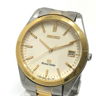 セイコー(SEIKO)のセイコー 8N65-8000(SBGG004) コンビ グランドセイコー 腕時計(腕時計(アナログ))