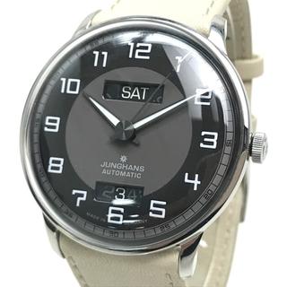 ユンハンス(JUNGHANS)のユンハンス 027/4721.01 マイスター ドライバー デイデイト 腕時計(腕時計(アナログ))
