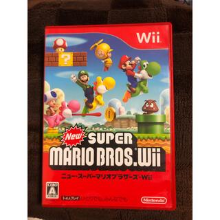 ウィー(Wii)のWii ソフト マリオ(家庭用ゲームソフト)
