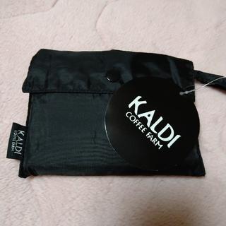 カルディ(KALDI)のカルディ オリジナル エコバッグ ブラック(エコバッグ)