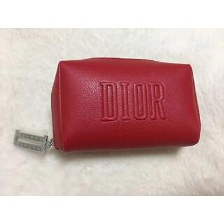 Dior - Dior限定ポーチレッド未使用新作