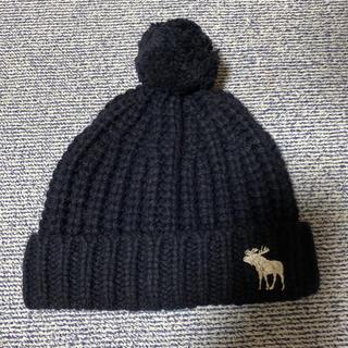 アバクロンビーアンドフィッチ(Abercrombie&Fitch)のアバクロ ニット帽 ニットキャップ(ニット帽/ビーニー)