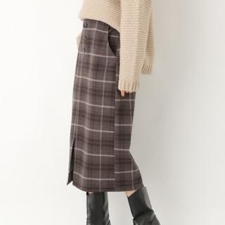 レプシィム(LEPSIM)のLEPSIM デザインナロースカート(ひざ丈スカート)