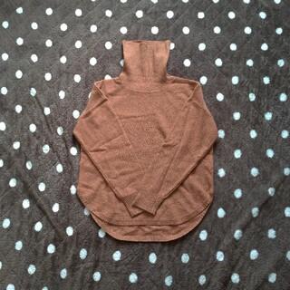 アトリエドゥサボン(l'atelier du savon)の裾ラウンド カシミヤネップタートル(ニット/セーター)