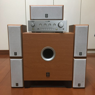 ヤマハ - 【美品】ヤマハ ホームシアターサウンドシステム AVX-S20 光ケーブル付き