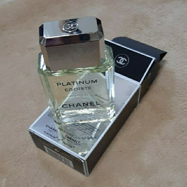 シャネル エゴイスト プラチナム EDT SP 50ml CHANEL  コスメ/美容の香水(香水(男性用))の商品写真