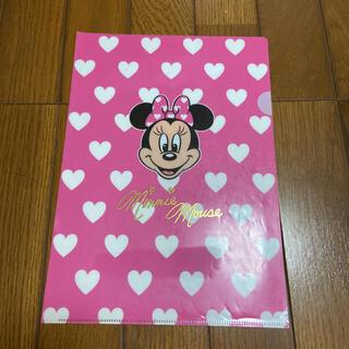 ディズニー ミニーマウス クリアファイル(クリアファイル)