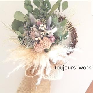 ◆ドライフラワーリース◇ flower◇◆natural◆プレゼント◇◇(ドライフラワー)