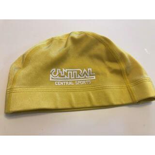 セントラルスポーツ スイミング キャップ帽子 黄色 Mサイズ(マリン/スイミング)