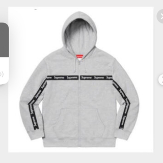 Supreme - supreme®︎ / Text Stripe Zip Up Hooded