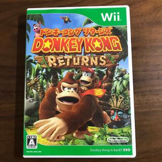 ウィー(Wii)のWii 「ドンキーコング リターンズ」(家庭用ゲームソフト)
