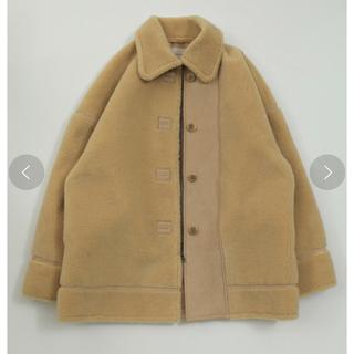 トゥデイフル(TODAYFUL)のTODAYFUL Bonding Boa Coat 36 クリーム(ロングコート)
