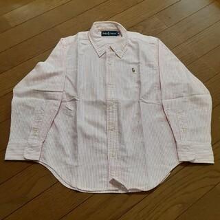 ラルフローレン(Ralph Lauren)のラルフローレン ストライプシャツ 120cm(ブラウス)