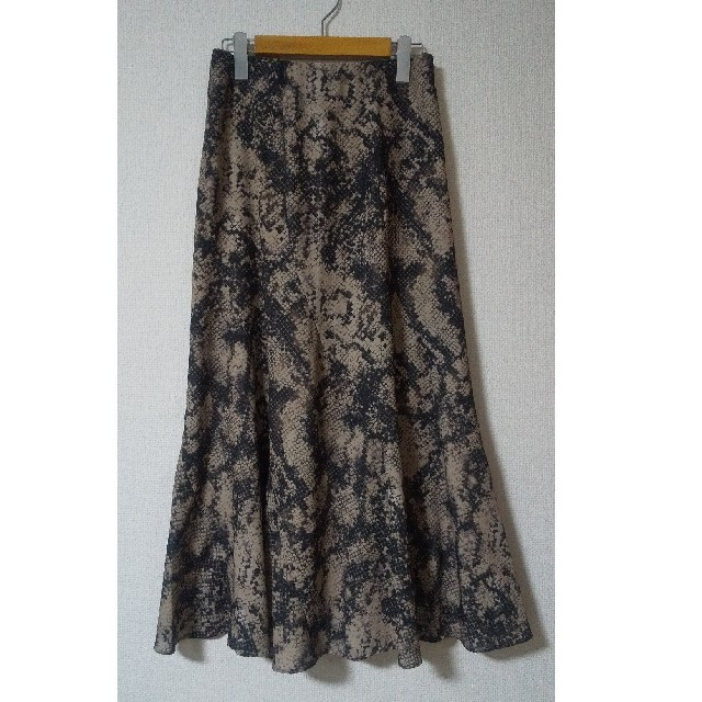 Mila Owen(ミラオーウェン)のMila Owen レオパード柄が素敵な大人女子のロングスカート レディースのスカート(ロングスカート)の商品写真