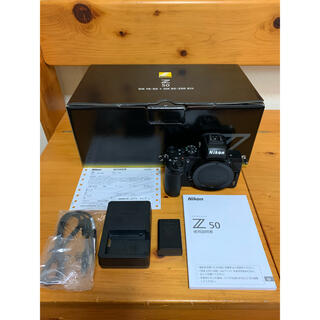 Nikon - 美品 Nikon Z50 ボディ ショット数3136