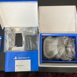 プレイステーションヴィーアール(PlayStation VR)の送料無料 美品 PlayStation VR カメラ同梱版(家庭用ゲーム機本体)