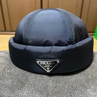 プラダ(PRADA)のprada ナイロンビーニー(ニット帽/ビーニー)
