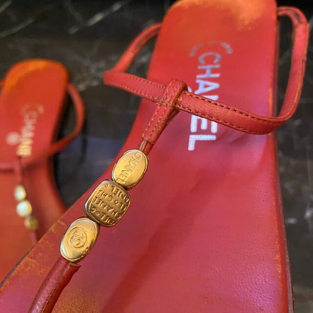 CHANEL(シャネル)のシャネル サンダル レディースの靴/シューズ(ビーチサンダル)の商品写真