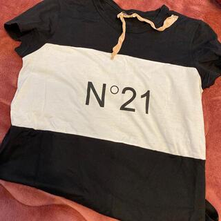 ヌメロヴェントゥーノ(N°21)のN°21 カットソー(カットソー(半袖/袖なし))