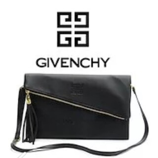 GIVENCHY - ジバンシー  GIVENCHY クラッチバッグ ショルダーバッグ 黒