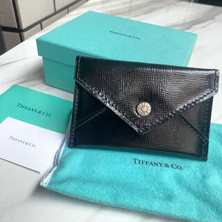 Tiffany & Co. - 正規品保証 ティファニー 名刺入れ カードケース
