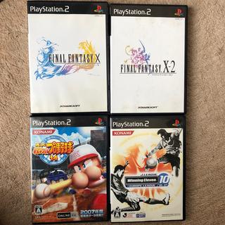 プレイステーション2(PlayStation2)のPS2 ゲームソフト4本セット まとめ 5(家庭用ゲームソフト)
