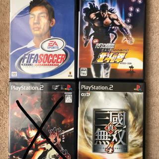 プレイステーション2(PlayStation2)のPS2 ゲームソフト4本セット まとめ 3(家庭用ゲームソフト)