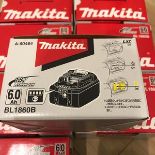 マキタ(Makita)のマキタ リチウムイオンBL1860B  18V 6.0Ah 8個セット(工具)