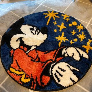 ディズニー(Disney)のDisney FANTASIA ミッキーマウス ウィッシングスター マット(玄関マット)