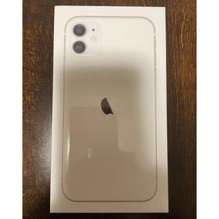 iPhone - 【新品未開封】 iPhone11 64G SIMフリー ホワイト