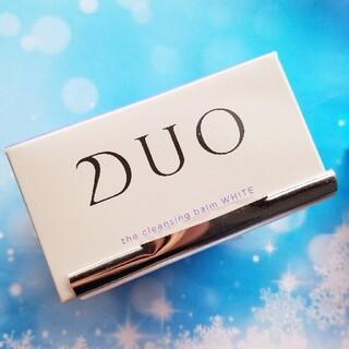 【新品】DUO クレンジングバーム ホワイト