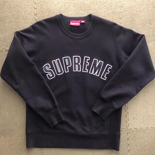 Supreme - supreme arclogo スウェット黒 S アーチロゴスウェット