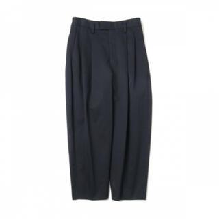 SUNSEA - URU 2tuck wide pants