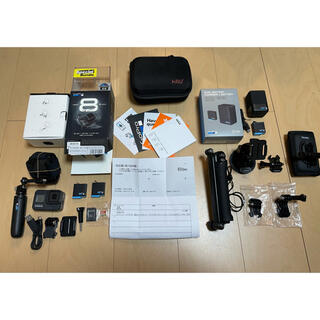 GoPro - GoPro Hero8 Black Bundleセット + アクセサリー