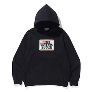 BLACK EYE PATCH×WASTED YOUTH パーカー XL(パーカー)