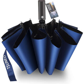 折りたたみ傘 自動開閉 頑丈な12本骨 メンズ 台風対応 梅雨対策 大きい(傘)