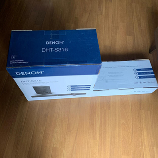 デノン(DENON)のDENON DHT-S316 新品未開封(スピーカー)