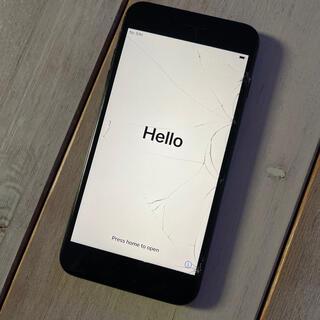 iPhone - iPhone 7 plus  256GB スペースグレイ simフリー ジャンク