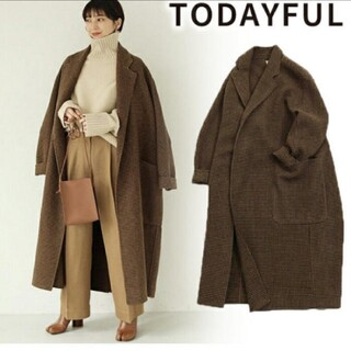 TODAYFUL - 新品未使用タグ付き TODAYFUL コート