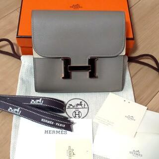 Hermes - 【美品】エルメス HERMES コンスタンス コンパクト 財布 グリアスファルト