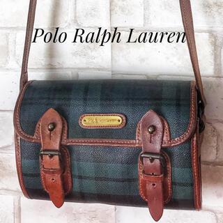 POLO RALPH LAUREN - OLD ポロラルフローレン チェック ショルダーバッグ